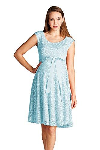 Lace Aqua Blue Dress: Amazon.com