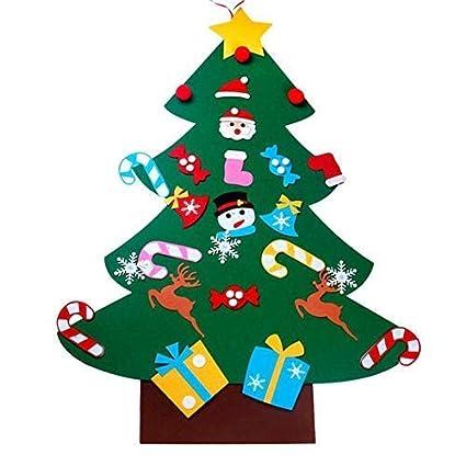 Children Christmas Tree Decorations.Amazon Com Valink Kids Diy Felt Christmas Tree Decorations