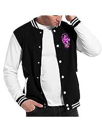 JoJo's Bizarre Adventure Mens Womens Varsity Jacket Baseball Cotton Jacket Letterman Jacket Three Color Unisex