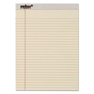 TOPS 63130 - Prism Plus Colored Writing Pads, Lgl Rule, LTR, Ivory, 50-Sheet Pads, 12/Pack-TOP63130 by (Prism Pads Colored Plus Writing)