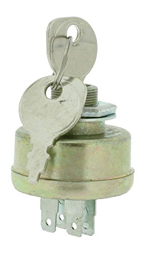 GreenStar 4758 3-Position Key Switch 5 Terminal Adaptable for AYP Roper 28403