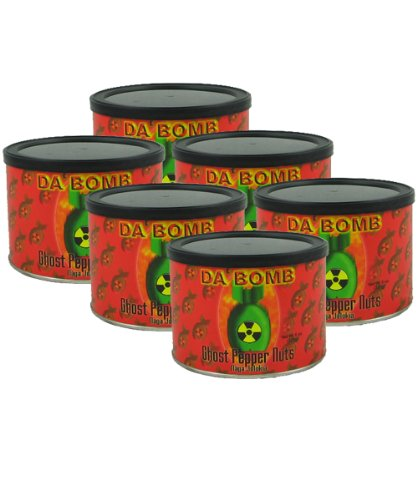 Da'Bomb Ghost Pepper Nuts – 6-Pack