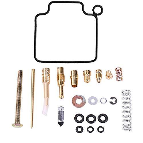 CQYD New Carb Repair Carburetor Rebuild Kit for Honda TRX350 TRX 350 Rancher 2x4 & 4x4 2000-2003 (2000 2001 2002 2003) (2006 Honda Rancher 350 4x4 For Sale)