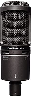 Audio-Technica AT2020USB PLUS Cardioid Condenser USB Microphone by Audio-Technica U.S