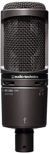 Audio-Technica AT2020USB PLUS Cardioid Condenser USB Microphone