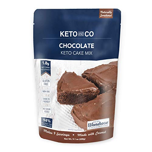 Chocolate Keto Cake Mix