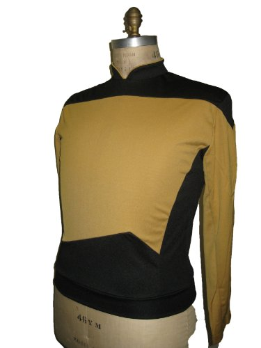 Star Trek Next Generation Costume Shirt (Next Generation Shirt Costume - Medium - Chest Size 40-42)