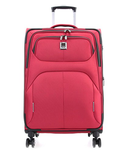 TITAN NONSTOP Large Lightweight Spinner Expandable Suitcase 31'' (Red) by TITAN