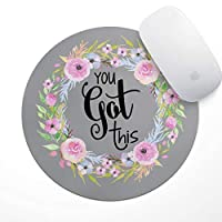 The Navy Knot You Got This Mouse Pad | Floral Mouse Pad, Inspirational Quote Mouse...