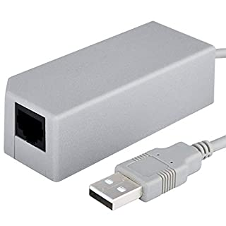 Insten For Nintendo Switch Network Adapter, USB 2.0 to 10/100 Mbps Fast RJ45 Lan Ethernet Wired Internet Adapter Compatible with Nintendo Switch/ Wii/ Wii U Gaming Connection Hub MacBook Chromebook (B00A8AUNTU) | Amazon price tracker / tracking, Amazon price history charts, Amazon price watches, Amazon price drop alerts