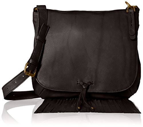 Lucky Brand Flap Cross Body, Black, One Size by Lucky Brand