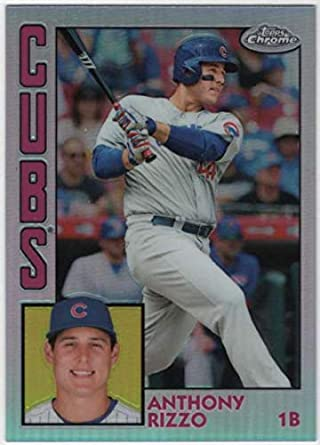 Verzamelkaarten: sport 2015 Topps Triple Threads #31 Anthony Rizzo Chicago Cubs Baseball Card