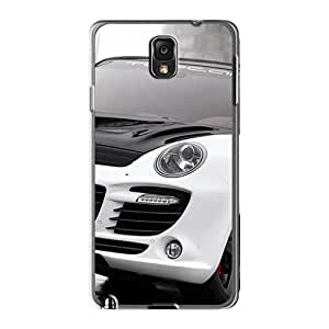 Flexible Tpu Back Cases Covers For Galaxy Note 3 - Porsche Cayenne Advantage Gt