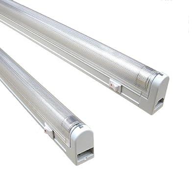 "TW Lighting T4 Fluorescent 8-Watt ~4100K 13-5/8"" Fixture Set (2-prong Unit)"