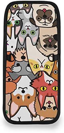 トラベルウォレット ミニ ネックポーチトラベルポーチ ポータブル カラフル かわいい ペット 犬 猫 小さな財布 斜めのパッケージ 首ひも調節可能 ネックポーチ スキミング防止 男女兼用 トラベルポーチ カードケース