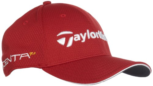 adidas Structured Tour Hat (Red, Small/Medium)