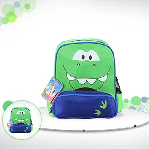 Nette Kinder Cartoon-Tier Rucksäcke Schultasche Kindergartentasche Dinosaurier