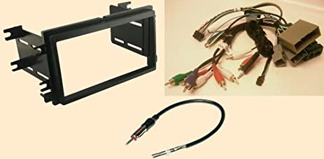 amazon com radio stereo install double din dash kit steering 2007 mountaineer transmission radio stereo install double din dash kit steering control wiring canbus wire harness