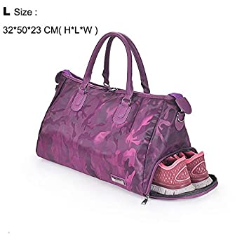 HUYGGY Fitness Shoulder Gym Bag for shoes Waterproof Portable Training bag  men women Travel handbag Yoga 5968b45f91d79