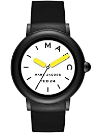 Womens Riley Touchscreen Smartwatch, Stainless Steel and Silicone Strap, Black (MJT2002)