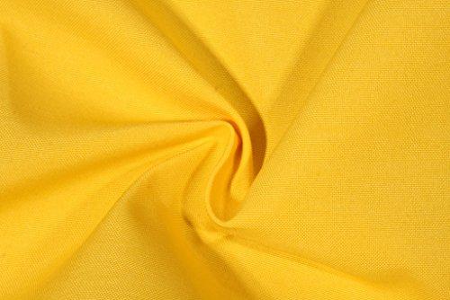 Set of 4 Indoor Outdoor Pillows – 2 Square Pillows 2 Rectangle Lumbar Decorative Throw Pillows – Solid Yellow 17 x 17 square 11 x 19 lumbar