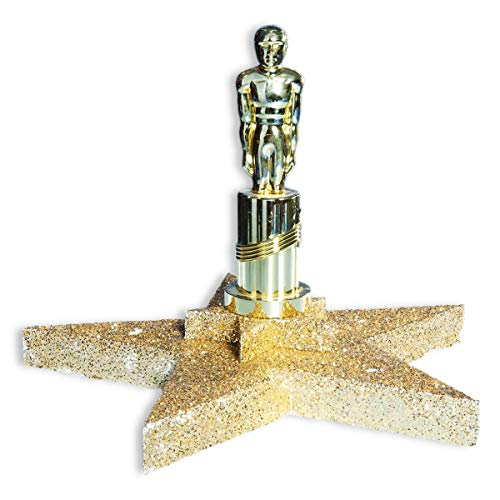 Hollywood Star Centerpiece Kit, 12 Inches High x 16 Inches Wide, Glitter Prom -