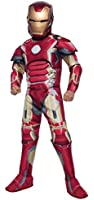 Rubie's Costume Avengers 2 Age of Ultron Deluxe Iron Man Mark 43 Costume, Medium