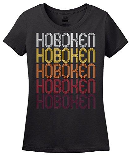 Hoboken, NJ | Retro, Vintage Style New Jersey Pride T-shirt
