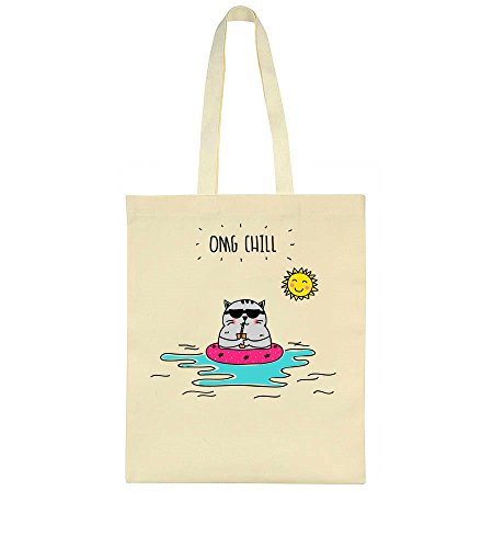 Floating Cool Bag In Tote Cat Water Sunglasses Chill With OMG qzxXX5