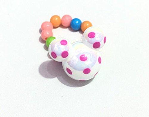 Zhahender Little Girls Accessory Jewellery Toy 3Pcs/Set Children's Resin Cute Animal DIY Ring(White) by Zhahender