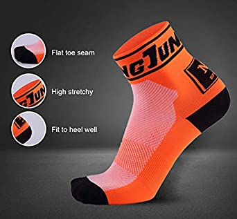 Sports Socks Low Cut Cotton Feicuan Ankle Socks Athletic Running 3//5 Pairs