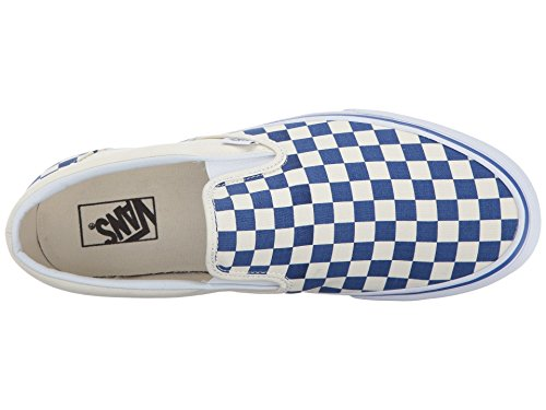 Vans Slip-on(TM) Core Classics ( Primary Checker) True Blue / White wCXURn