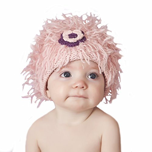 - Zooni By Melondipity Pink Flower Power Baby and Toddler Girl Hat (0-6 months)