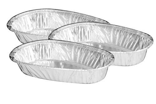 Handi-Foil Small Mini Baked Potato Shell 50/Pk - Disposable Aluminum Tins (pack of 50)