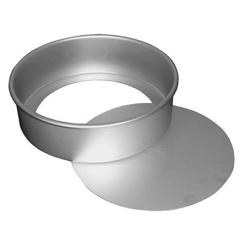 Fat Daddio's Anodized Aluminum Round Cheesecake Pan, 4 Inches by 2 Inches