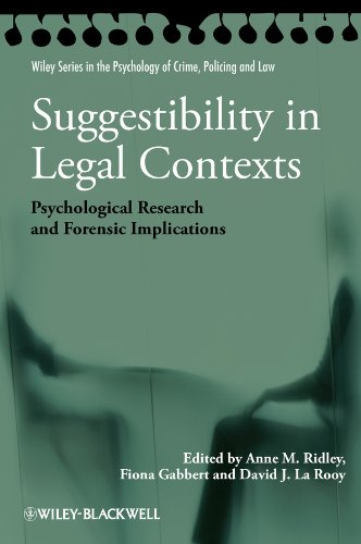 Suggestibility in Legal Contexts: Psychological Research and Forensic Implications (Wiley Series in Psychology of Crime,