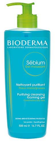 Bioderma Sebium Foaming Gel Facial Cleanser for Combination to Oily Skin 1