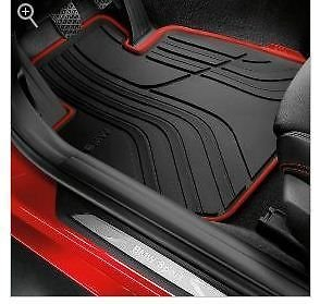 BMW New OEM 4-Series All-Weather Front Floor Mats, Sport Line