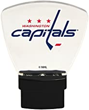 Authentic Street Signs 85327 NHL Washington Capitals LED Nightlight, Clear, One Size