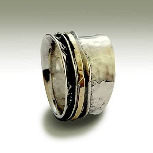 Amazon.com: Alternative wedding band made from sterling
