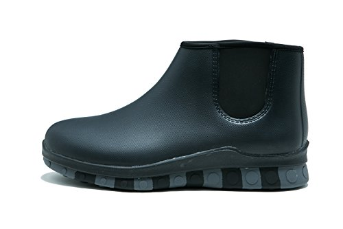 Grey Boot Comet M CCILU Chelsea Black Men's Rain Black IwIO8q