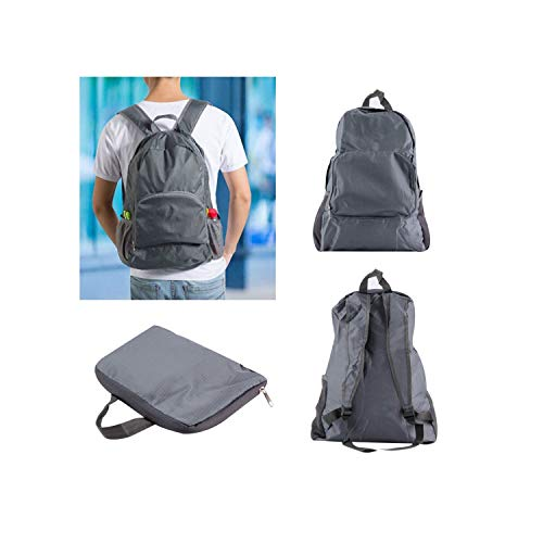 (Men Backpack 30L Large Capacity School Bag Travel Shoulders Bag Nylon Foldable Travel Backpack Bags backpack,Black,Russian Federation)