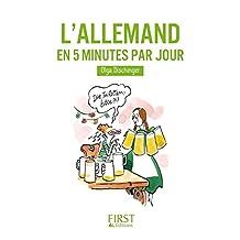 Petit livre de - Allemand en 5 mn par jour (LE PETIT LIVRE) (French Edition)