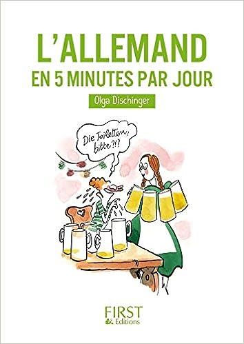 Petit Livre De Allemand En 5 Mn Par Jour Le Petit Livre