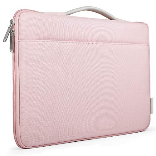 Inateck 13-13.3 Inch Laptop Sleeve Case Cover Briefcase Compatible MacBook Air(Including 2018 Version)/13'' MacBook Pro 2018/2017/2016, 12.3 Surface Pro 3/4/5/6, Surface Laptop 2017/2 - Pink