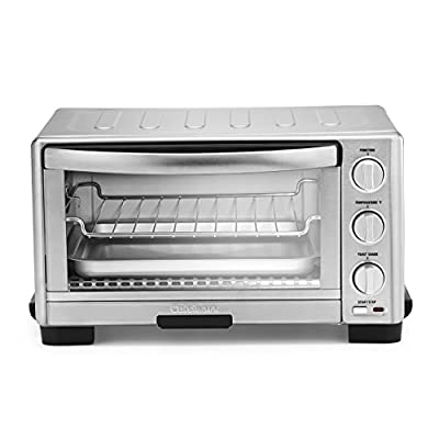 """Cuisinart TOB-1010 Toaster Oven Broiler, 14"""" x 15.75"""" x 14"""", Silver"""
