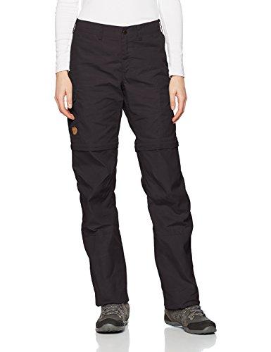Fjällräven - Pantalones de acampada y senderismo para mujer, tamaño 40 UK Gris (Dunkelgrau)