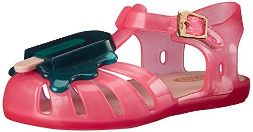 - Mini Melissa Aranha VIII BB Slingback Sandal (Toddler), Pink/Green, 7 M US Toddler