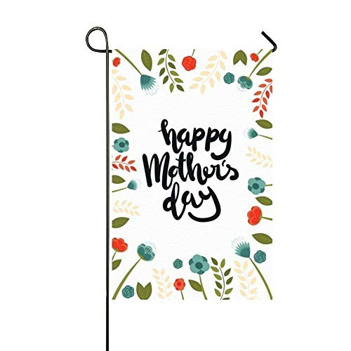 Cyril65Sincr Garden Flag Happy Mother'S Day Greeting Home De