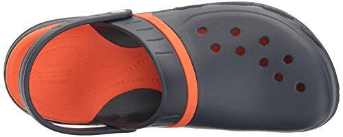 Crocs Modi Sport Clog, Zoccoli Unisex – Adulto Navy/Tangerine